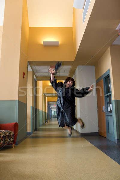 Overjoyed Graduate Stock photo © ArenaCreative
