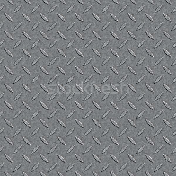 Seamless Diamond Plate Pattern Stock photo © ArenaCreative