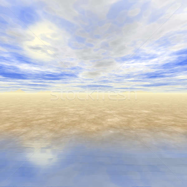 3D Seascape Stock photo © ArenaCreative