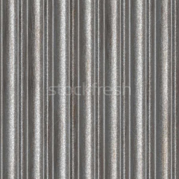 Corrugated Aluminum Material Stock photo © ArenaCreative