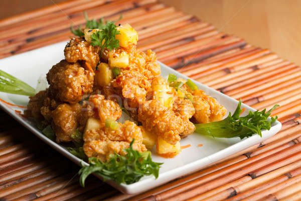 Thai Fried Calamari Stock photo © arenacreative