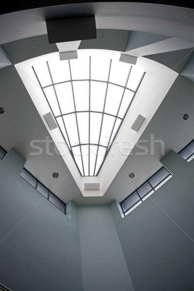 Moderne bouwkundig interieur dakraam kantoor Stockfoto © ArenaCreative
