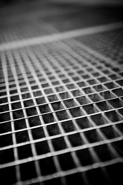 Subway Grate Texture Stock photo © ArenaCreative