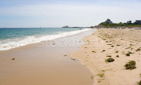 Regarder colline Rhode Island plage historique phare Photo stock © ArenaCreative