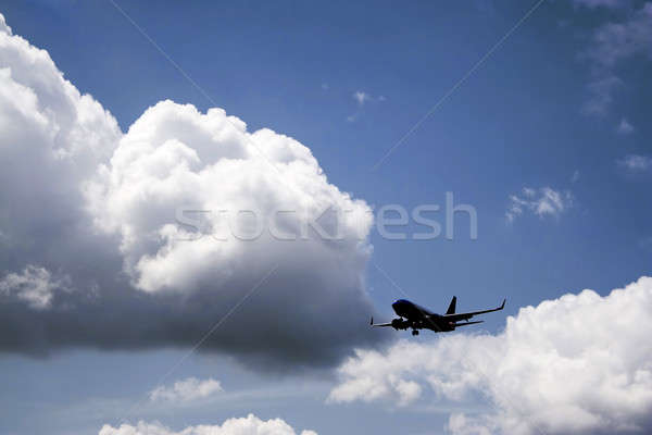 Commercial Jet Airplane Stock photo © ArenaCreative