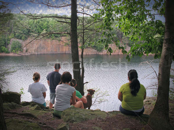 Enjoying the View Stock photo © ArenaCreative