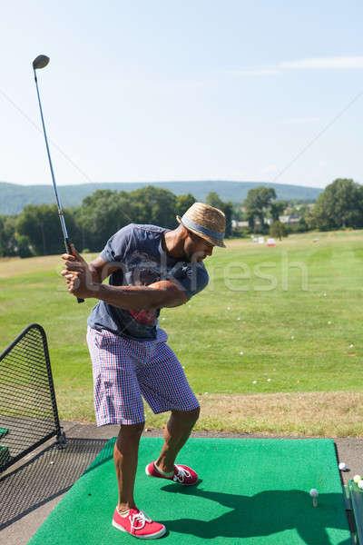 Golfing at the Range Stock photo © ArenaCreative