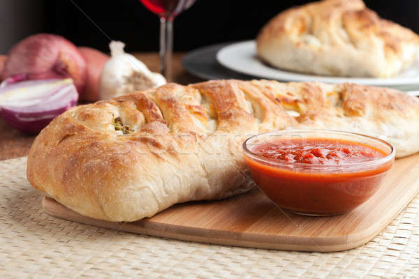 Italian Stuffed Bread Stock photo © arenacreative