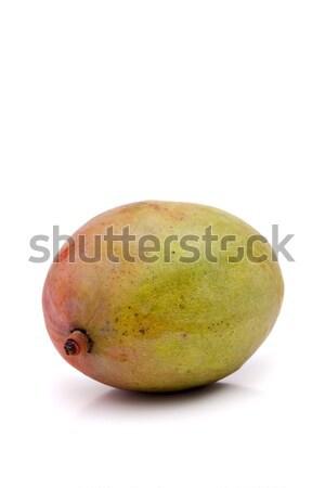 Fresco manga fruto inteiro isolado branco Foto stock © ArenaCreative