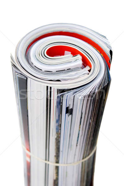 Rolled Up Magazines Stock photo © ArenaCreative