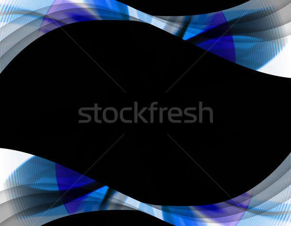 Absztrakt örvény keret hullámos elrendezés nagyszerű Stock fotó © ArenaCreative
