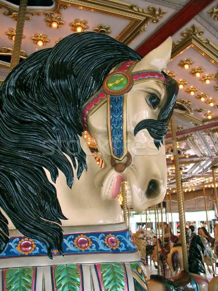Stock photo: Carousel Horse