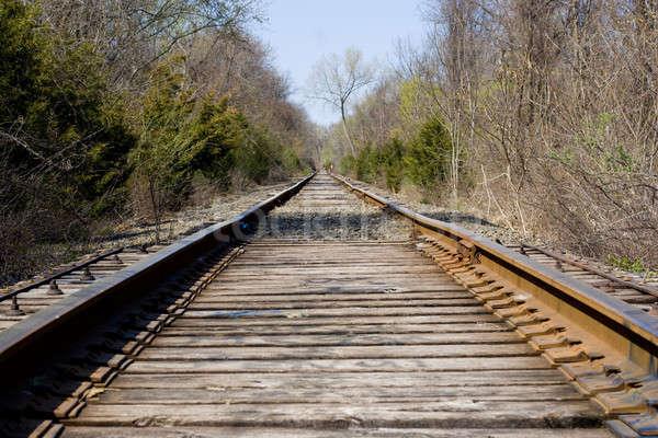 Railroad Tracks Stock photo © ArenaCreative