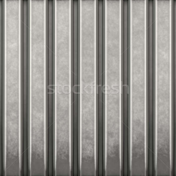 corrugated steel Stock photo © ArenaCreative