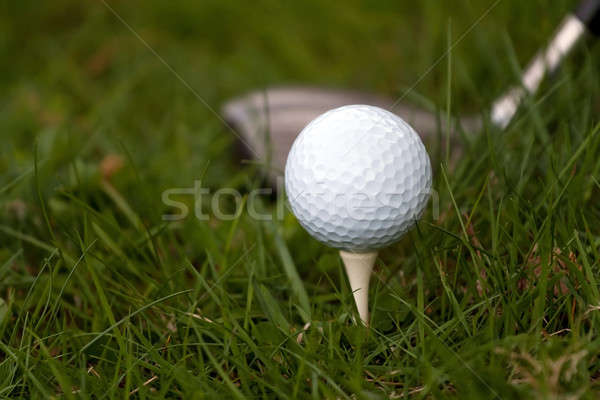 Golf Ball and Tee Stock photo © ArenaCreative
