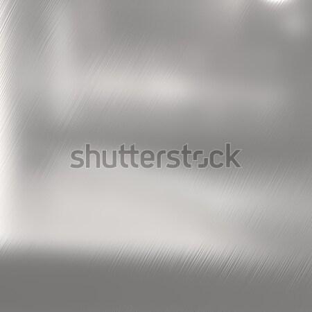 Silver Brushed Nickel Texture Stock photo © ArenaCreative