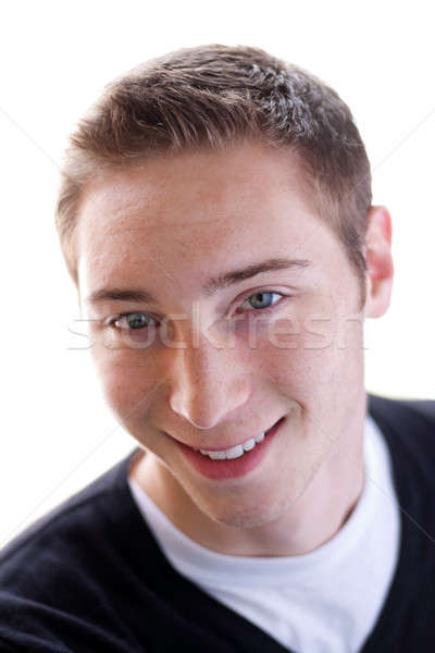Happy Young Man Stock photo © ArenaCreative