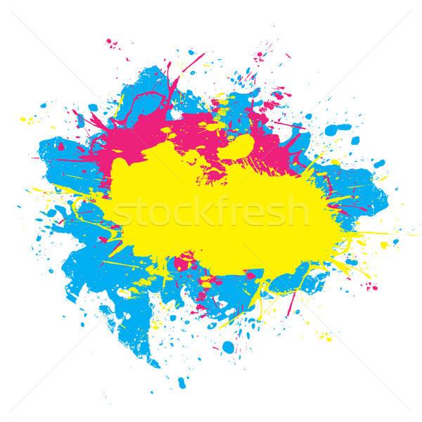 Colorful Splattered Paint  Stock photo © ArenaCreative