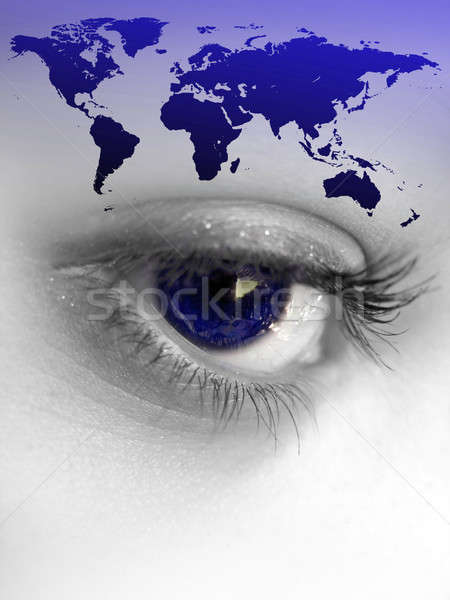 World Eye Stock photo © ArenaCreative