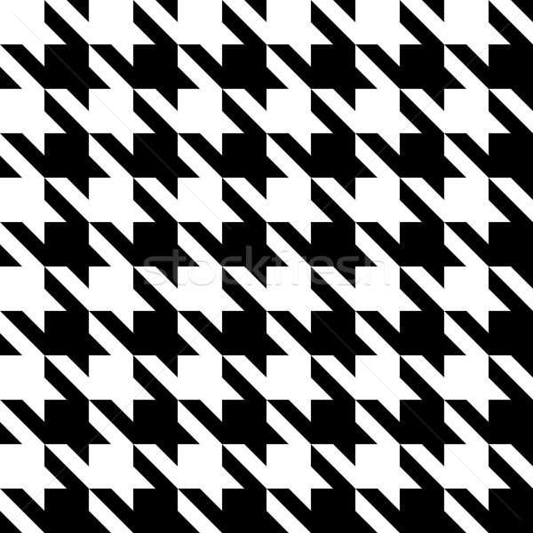 Houndstooth Pattern Stock photo © ArenaCreative