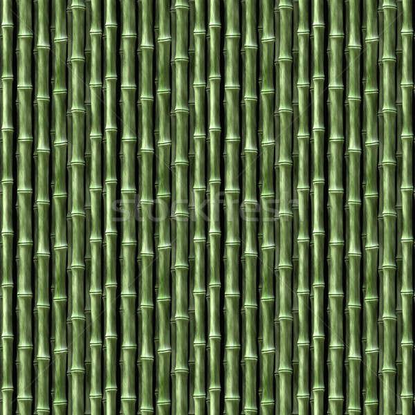 Bambu sem costura textura azulejos padrão Foto stock © ArenaCreative