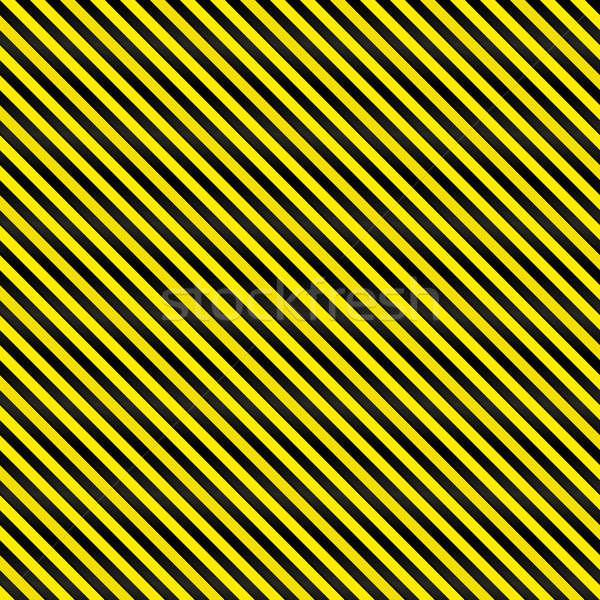 Apertado sem costura perigo amarelo preto Foto stock © ArenaCreative