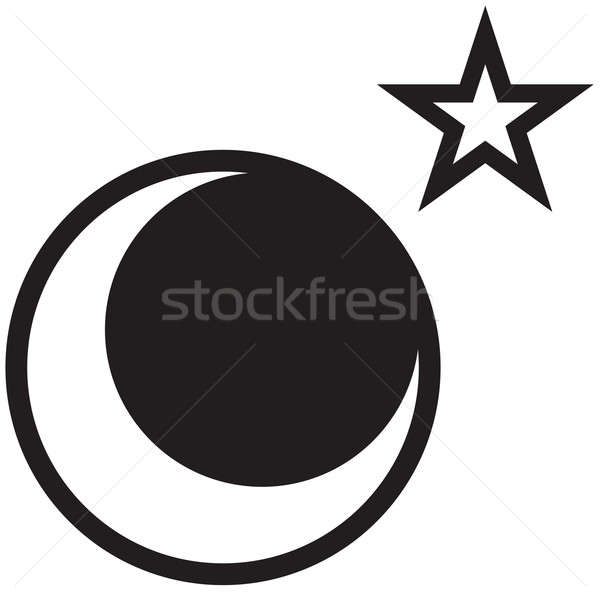 Moon and Star Stock photo © ArenaCreative