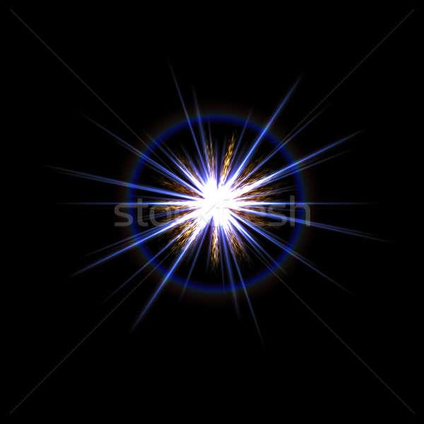 Lens Flare Star Burst Stock photo © ArenaCreative