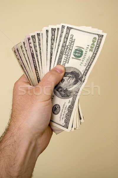 handful of money Stock photo © ArenaCreative