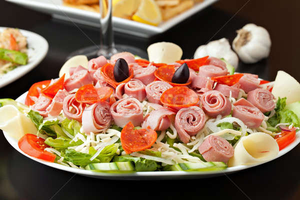 Antipasto Salad Stock photo © ArenaCreative
