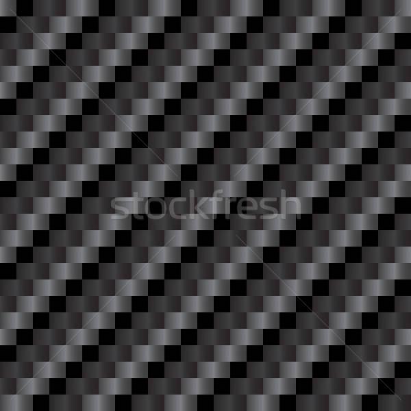 Seamless Carbon Fiber Texture Stock photo © arenacreative