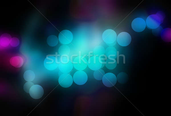 Blurred Bokeh Circles Stock photo © ArenaCreative