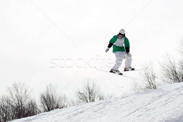 Freestyle Skier Stock photo © ArenaCreative