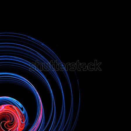 Radial Fractal Stock photo © ArenaCreative