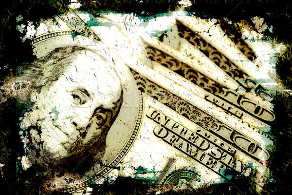 Grungy Money Background Stock photo © ArenaCreative