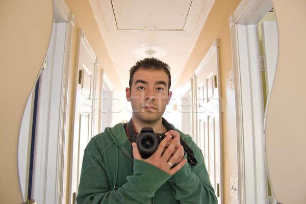 Self Portrait Stock photo © ArenaCreative