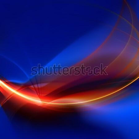 Fractal kunst ontwerp groot brand Stockfoto © ArenaCreative