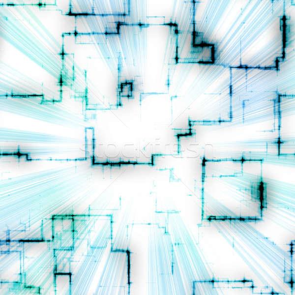 Bright Geometric Pattern Stock photo © ArenaCreative