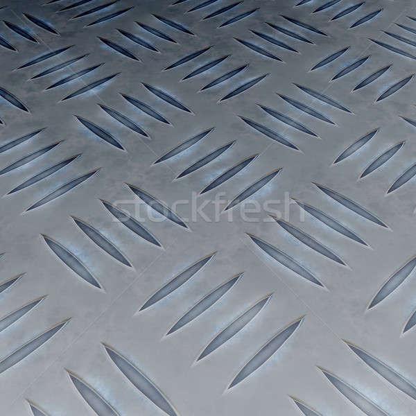 Realistic Diamond Plate Stock photo © ArenaCreative