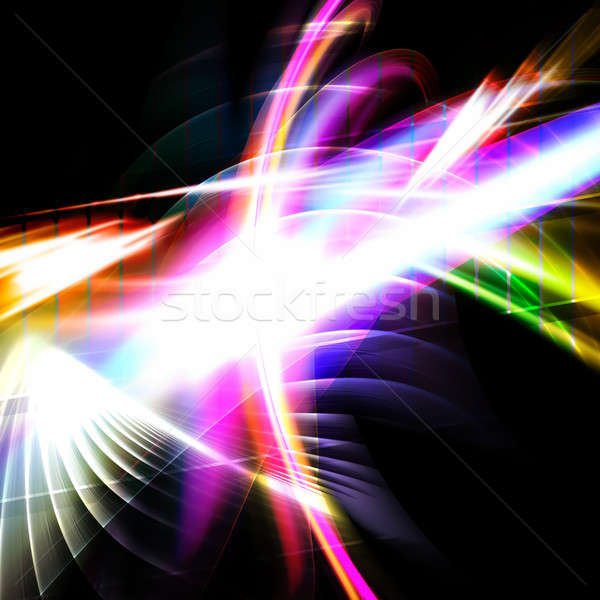 Rainbow Fractal Abstract Stock photo © ArenaCreative