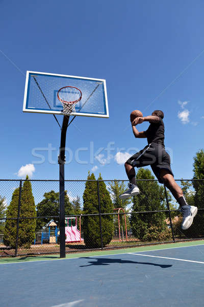 Basketball Dunk Stock photo © ArenaCreative