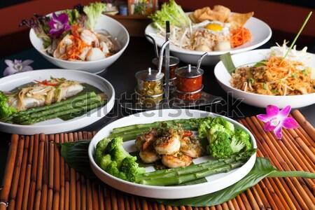 タイ料理 料理 表 野菜 アジア ストックフォト © arenacreative