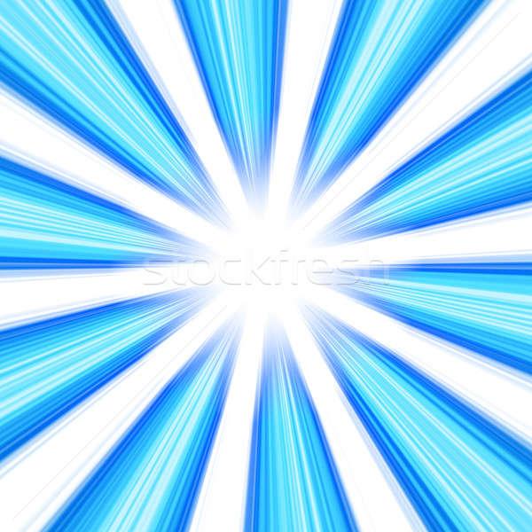 Blue Abstract Vortex Stock photo © ArenaCreative