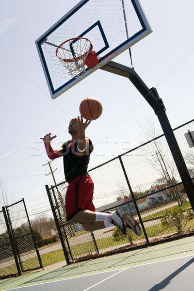 Basketball Player Layup Stock photo © ArenaCreative
