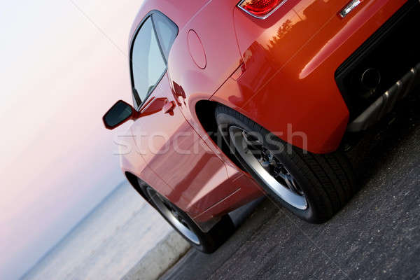 Stock photo: Modern Sports Car