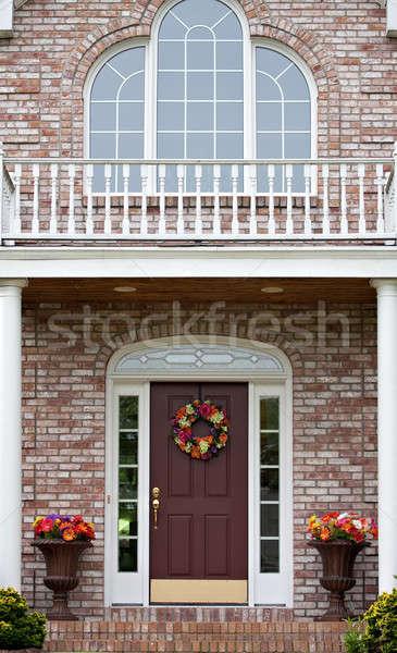 Luxury Home Entrance Stock photo © ArenaCreative
