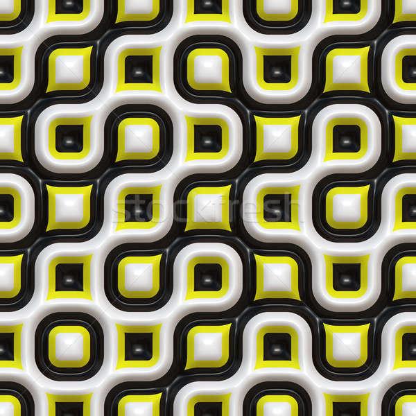Checkered Organic Pattern Stock photo © ArenaCreative