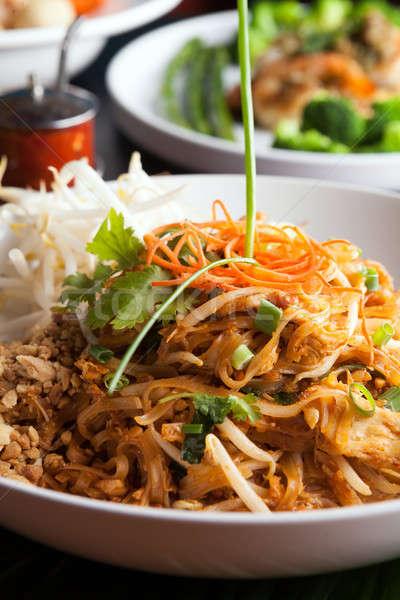 Сток-фото: куриные · тайский · блюдо · жареный