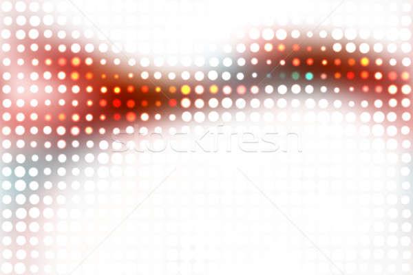 Stock fotó: Színes · izzó · elrendezés · halftone · textúra · körök