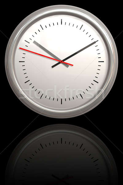 Chrome Clock Stock photo © ArenaCreative